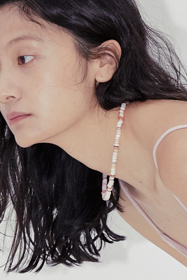 Mother-of-pearl Necklace-Pink